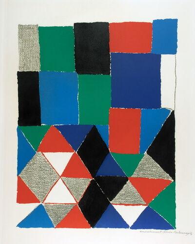 Sonia Delaunay, 'No title', 1969