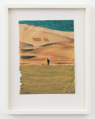 Franz West, 'Untitled (Figure in Desert)', 1976
