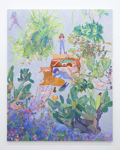 Makiko Kudo, 'I also liked lying down on the hot pavement', 2018