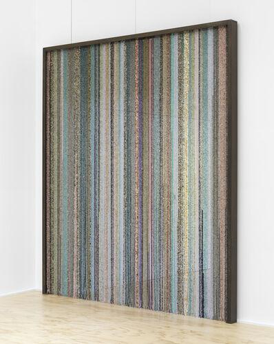 Sam Falls, 'Healing sculpture (Curtain)', 2017