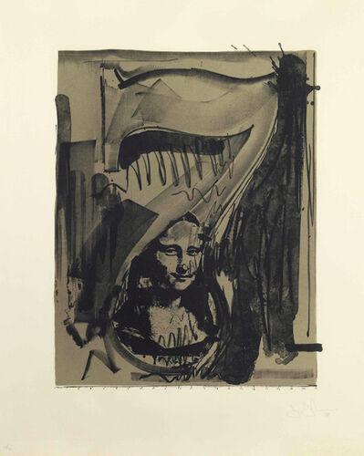 Jasper Johns, 'Figure 7, Black Numerals Series', 1968