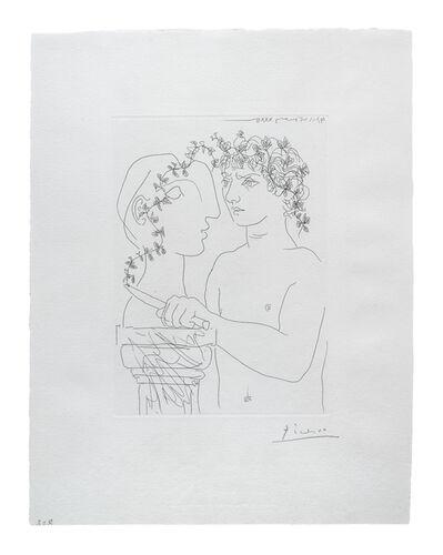 Pablo Picasso, 'Jeune Sculpteur au Travail (Vollard Suite)', 1933