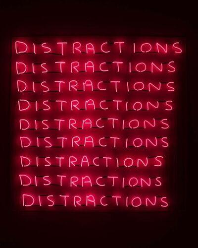 David Shrigley, 'Distractions', 2018