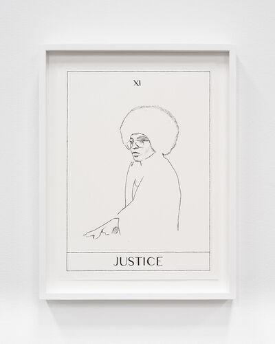 Mieke Marple, 'Justice (Angela Davis)', 2018