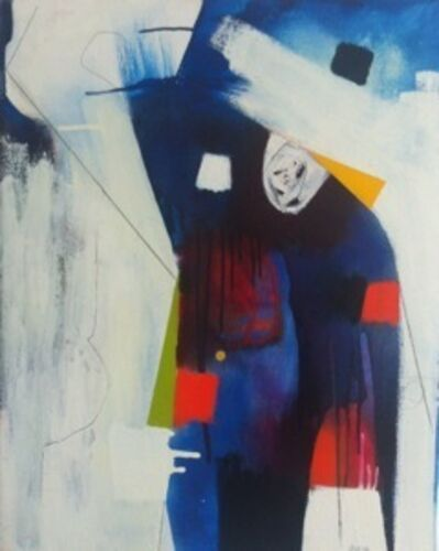 Xanda McCagg, 'Observe, abstract color painting', 2012