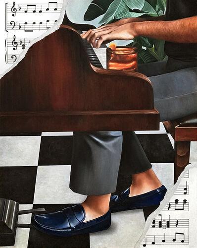 Ryan Jones, 'Blue Suede Shoes', 2017