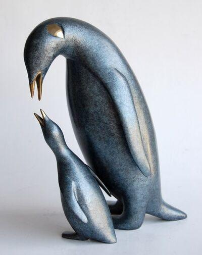 Loet Vanderveen, '#488, King Penguin and Baby'