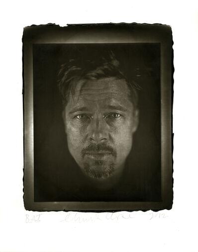 Chuck Close, 'Brad', 2012