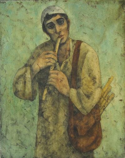 Louay Kayali, 'The Flute Seller', 1960