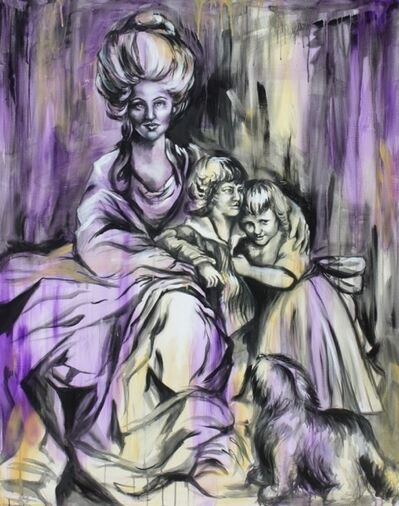Amy Lee Lummus, 'Anne Elliot and Children of Uppercross', 2016