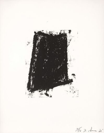 Richard Serra, 'Sketch #5', 1981