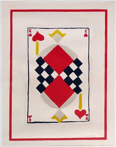 Sonia Delaunay, 'King of Hearts'