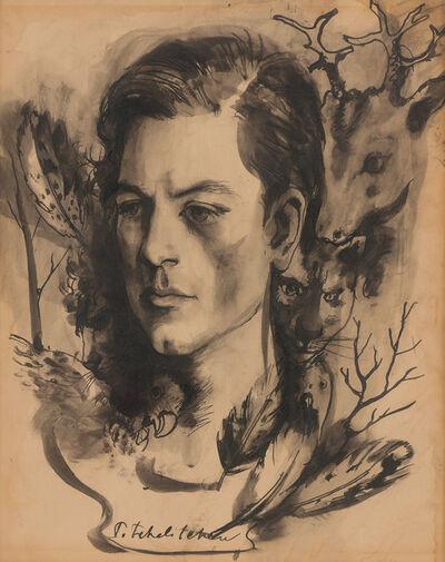 Pavel Tchelitchew, 'Portrait of Parker Tyler'