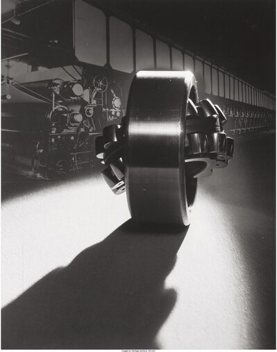 Edward W. Quigley, 'Montage with large bearing', 1930-39