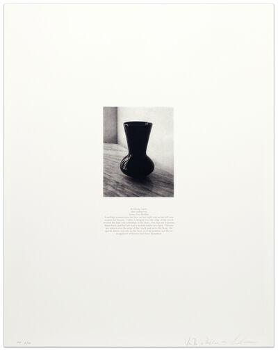Lorna Simpson, 'Van Der Zee Prop Vase', 1993