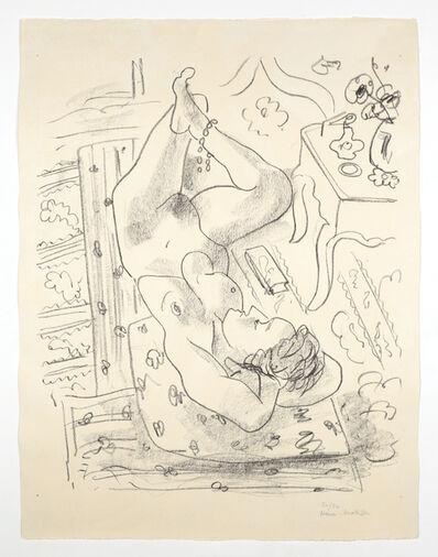 Henri Matisse, 'Nu renversé près d'une table Louis XV', 1929