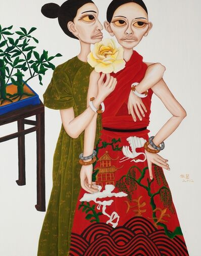 Liu Yi-Lan 柳依蘭, 'Portrait of Beauties - Whisper', 2012
