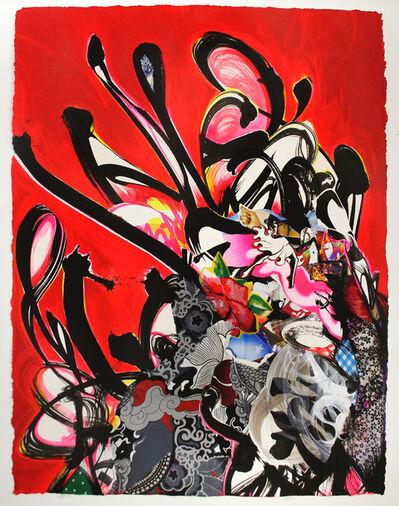 Shinique Smith, 'Magnetic Beam', 2015
