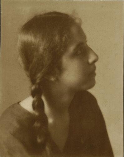 Caroline Haskins Gurrey, 'Profile of a Girl', 1909