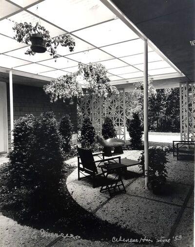 Pedro E. Guerrero, 'Celanese House, New Canaan, CT Edward Durell Stone, Architect (Set of 2 Prints, Foyer and Garden)', 1959
