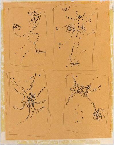 Lucio Fontana, 'Studies for 'Concetto spaziale'', 1954