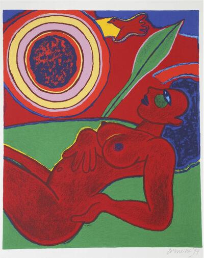 Guillaume Corneille, ' Le nu rouge en été', 1994