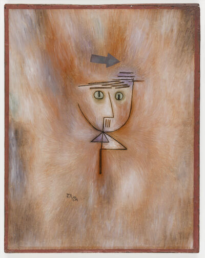 Paul Klee, 'Fast getroffen (Nearly Hit)', 1928