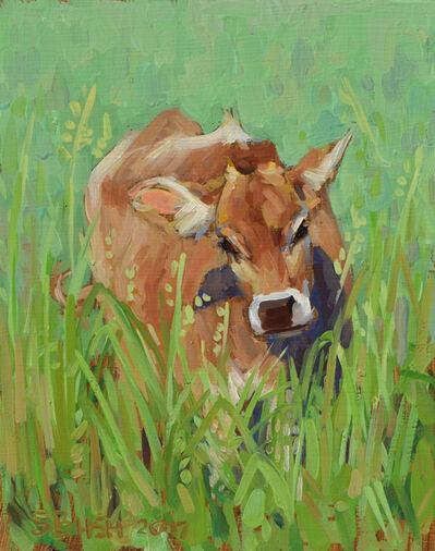 Stephanie Bush, 'Cow Study 19'