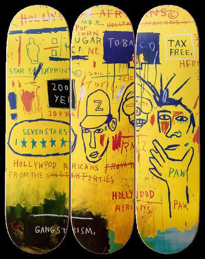 Jean-Michel Basquiat, 'Hollywood Africans Skate Deck Set', ca. 2014