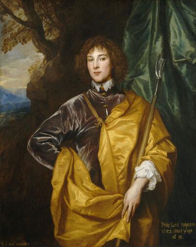 Anthony van Dyck, 'Philip, Lord Wharton', 1632