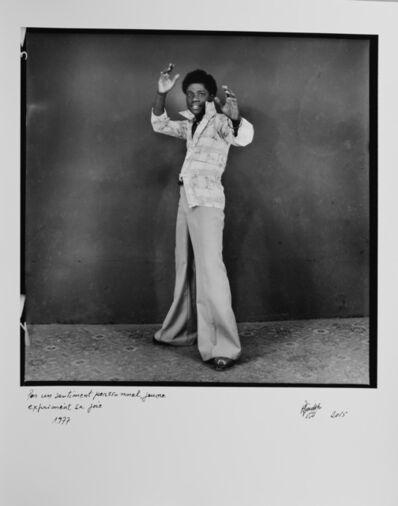 Ambroise Ngaimoko, 'Par un sentiment personnel, jeune exprimant sa joie', 1977