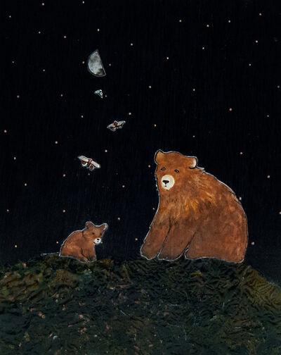 Ashley Anne Clark, 'Bear & Cub', 2019