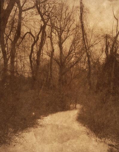 "Koichiro Kurita, '""Winter Path"" Concord, MA', 2014"