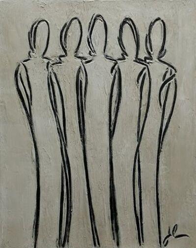 Janet McGreal, 'Gathering - 5 Standing', 2017