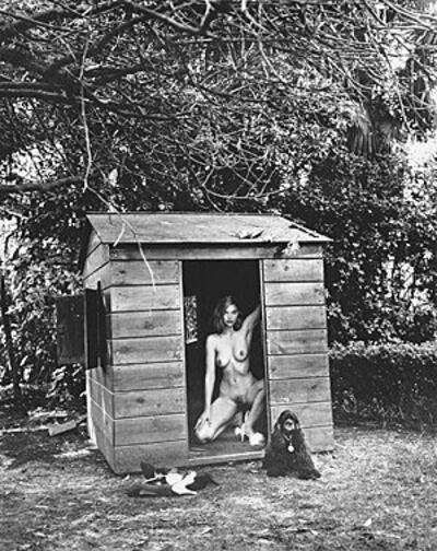 Helmut Newton, 'Domestic Nude 7', 1992