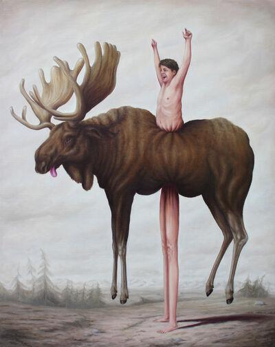 Bruno Pontiroli, 'La Prise d'élan', 2017