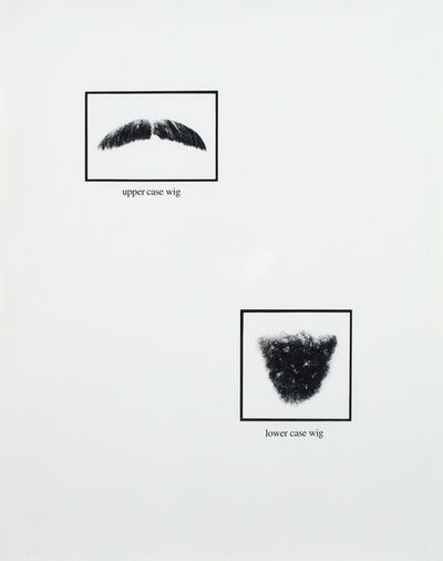 Lorna Simpson, 'Untitled, from Portraits', 1994