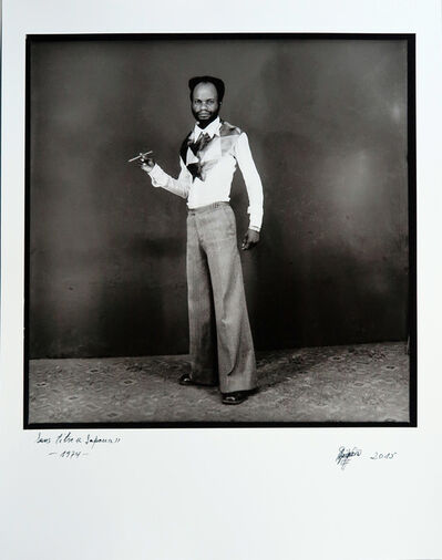 Ambroise Ngaimoko, 'Sans titre (un sapeur)', 1974