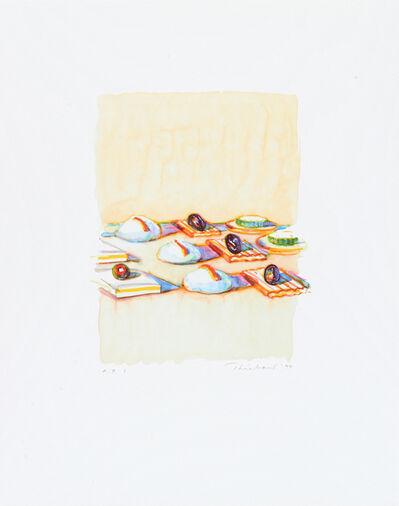 Wayne Thiebaud, 'Appetizers', 1994