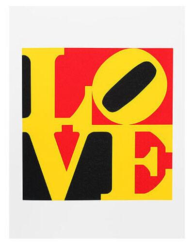 Robert Indiana, 'Love', 1971