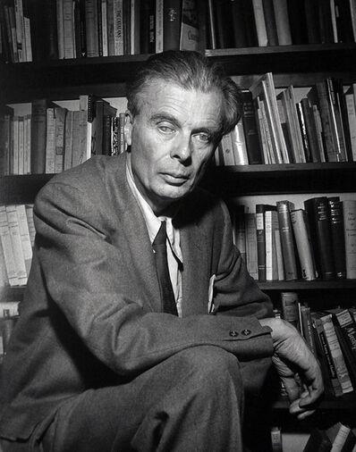 Murray Garrett, 'Famous author Aldous Huxley photographed for TIME magazine', ca. 1957