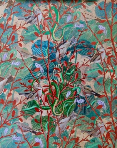 Alain Vaes, 'Birds, Snakes and Caterpillars'