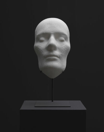 Sybren Renema, 'Study for the death mask of an average Romantic', 2012