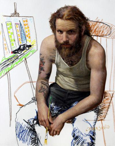Cesar Santos, 'The Painter', 2015