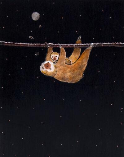 Ashley Anne Clark, 'Mother & Child Sloths', 2019