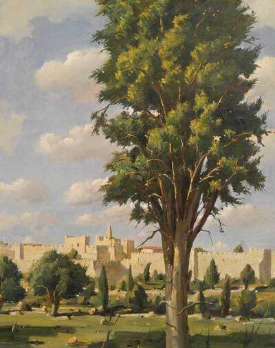 Ilan Baruch, 'The Cypress Tree in Jerusalem', 2018