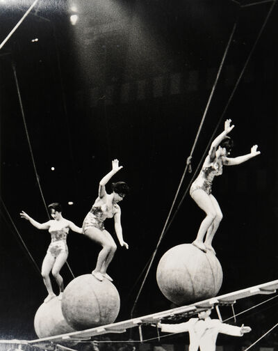 Edward W. Quigley, 'Three Photographs of Circus Subjects', 1930s
