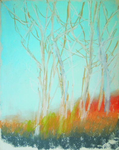 Kathy Buist, 'Past the Trees'