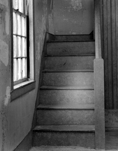 Leslie Hanes, 'Stairs at Bevan's Church'