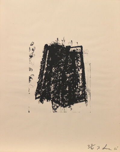 Richard Serra, 'Sketch #1', 1980